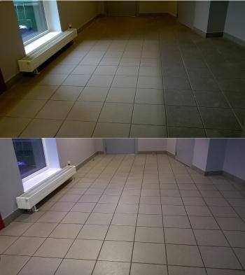 Plaaditud põrandapesu